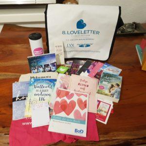 LoveLetter Convention 2019 Goodie-Bag